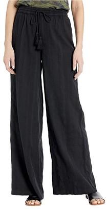 Volcom Sun Spent Pants (Black) Women's Casual Pants