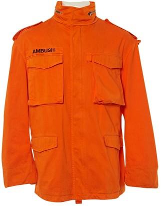 Ambush Orange Cotton Jackets