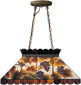 Dale Tiffany Dale TiffanyTM Grape Pool Table Island Fixture