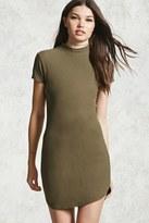 Forever 21 FOREVER 21+ High Neck Mini Dress