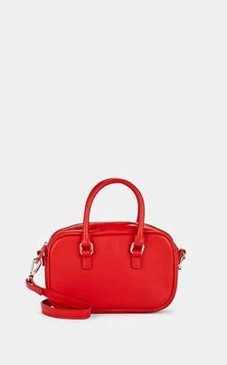 Barneys New York Women's Leather Mini Bag - Red