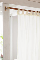 Urban Outfitters Mid-Century Modern Wood Curtain Rod