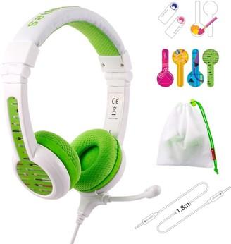 BuddyPhones School+ Headphones Green