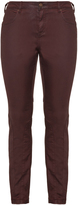 Zizzi Plus Size Coated Nille slim fit jeans