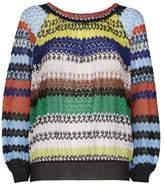 Missoni Striped Crochet Top