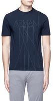 Armani Collezioni Slim fit logo print T-shirt