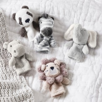 The White Company Two by Two Finger Puppets - Set of 5, Multi, One Size