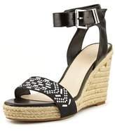 Bar III Athena Open Toe Synthetic Wedge Sandal.