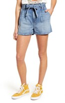 Thumbnail for your product : STS Blue Paperbag Waist Pleated Denim Shorts