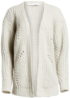 IRO Vesna Chunky Knit Cardigan Sweater