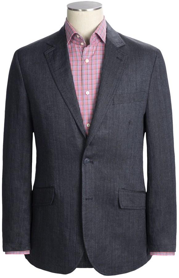 Martin Gordon Linen Herringbone Sport Coat (For Men)