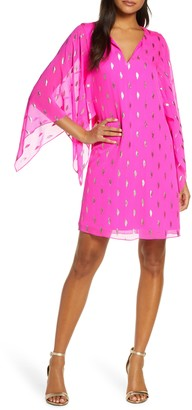 Lilly Pulitzer Shalyn Silk Fil Coupe Caftan
