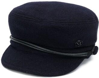 Maison Michel Wool Baker Boy Hat