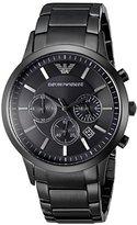 Emporio Armani Men's AR2453 Classic Stainless Steel Black Watch