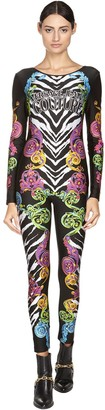 Versace Jeans Couture All Over Printed Bodysuit