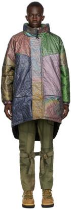 Children of the Discordance Multicolor Poliquant Edition Bandana Mix Coat