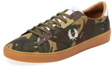 Fred Perry Spencer Camo Low Top Sneaker