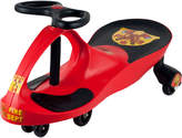 Trademark Lil' Rider Red Rescue Firefighter Wiggle Ride-On