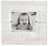 Mud Pie Sweet Baby 8-Inch x 10-Inch Wood Picture Frame