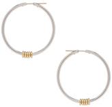 Spinelli Kilcollin Pegasus Hoop Earrings in Metallics.