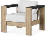 Smith & Hawken Montpelier Wood Patio Club Chair with Sunbrella Fabric