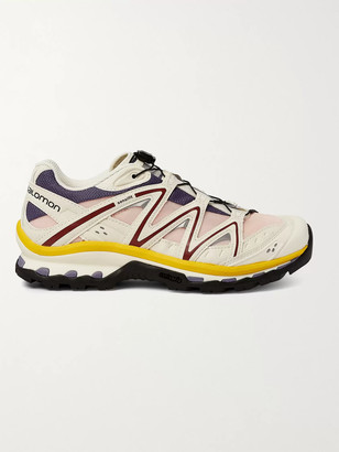 Salomon Xt-Quest Adv Rubber And Mesh Running Sneakers