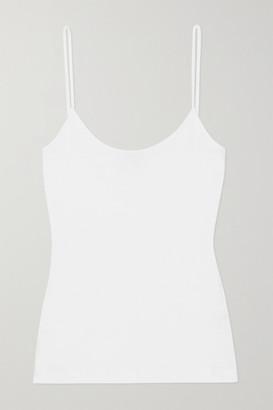 Ninety Percent Net Sustain Ribbed Organic Cotton-jersey Camisole