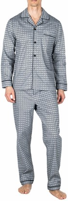 Majestic International Men's Marbella StretchLong Sleeve Pajama