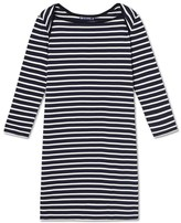 Petit Bateau Womens striped dress