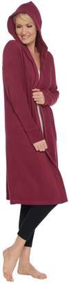 Cuddl Duds Fleecewear Stretch Hoodie Wrap w/ Pockets