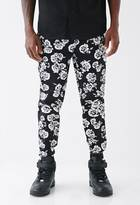 Forever 21 FOREVER 21+ X-Ray Floral Joggers
