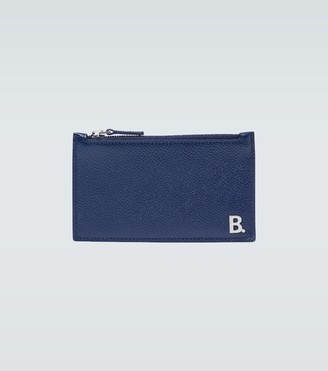 Balenciaga B long coin and card holder
