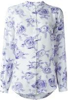 Equipment rose print shirt - women - Silk - M
