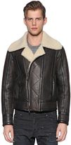 DSQUARED2 Shearling Aviator Jacket