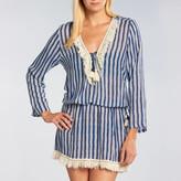 Cool Change Batik Stripe Chloe Fringe Tunic