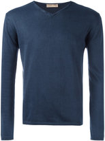 Cruciani V neck sweatshirt - men - Cotton - 58