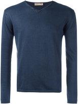 Cruciani V neck sweatshirt - men - Cotton - 58