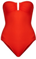 Eres Cassiopee strapless swimsuit