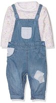 Mothercare Girl's Floral Dungarees