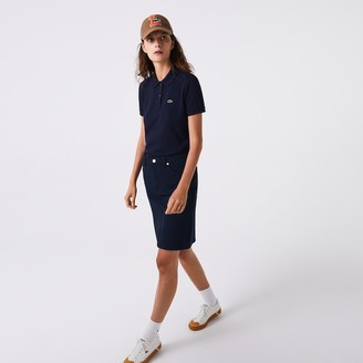 Lacoste Women's Classic Fit Soft Cotton Petit Pique Polo