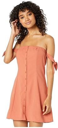 BB Dakota Tie to Remember Dress (Ginger Spice) Women's Dress