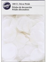 Wilton Decor Petals with Organza, White, 300-Pack