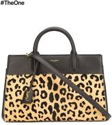 Saint Laurent 'Rive Gauche' tote - women - Leather/Calf Hair - One Size