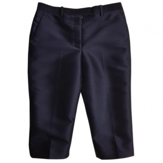 3.1 Phillip Lim Navy Wool Shorts for Women