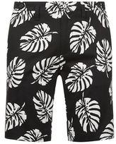 Dolce & Gabbana Leaf Print Shorts