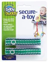 Baby Buddy Secure-a-Toy Straps in Navy/Green (Set of 2)