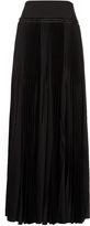 Haider Ackermann Pleated satin skirt