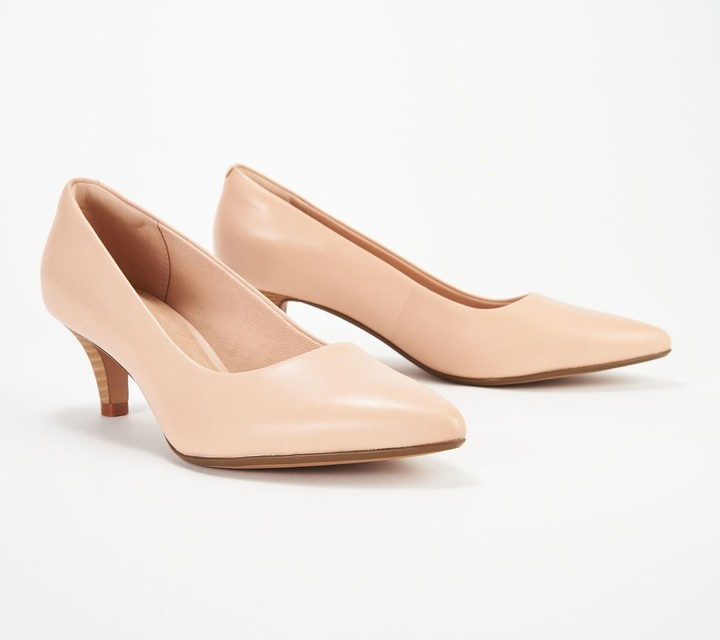 2251b98524a Collection Leather Pumps - Linvale Jerica