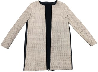 Fendi Beige Silk Coat for Women