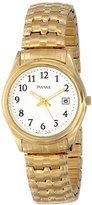 Pulsar Women's PXT586 Expansion Gold-Tone Stainless Steel Watch